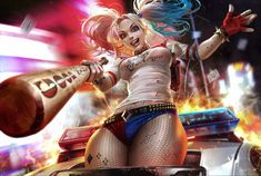 General 1400x943 Suicide Squad Harley Quinn