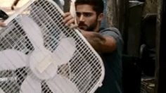 """Max Ehrich as Hunter May Under The Dome Season 3 Episode 13 """"Enemy Within"""" 2015."""