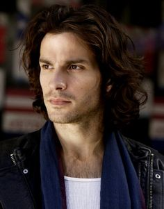 Santiago Cabrera has exactly the sort of look I'm forever casting as my hero. I really need to branch out, but I'll just leave him here. Y'know. In case I ever need him...