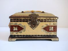 Vintage Blue Bird Candy Box & Bank Metal Treasure by VintageRetrievers, $ 30.00