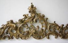Pair of Exceptionally Baroque Supraportes | From a unique collection of antique and modern architectural elements at https://www.1stdibs.com/furniture/building-garden/architectural-elements/