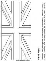 19 meilleures images du tableau drapeau anglais flag bedrooms et british things - Drapeau royaume uni a colorier ...