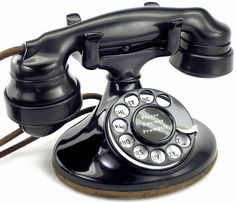 ANTIQUE 1930 's WESTERN ELECTRIC ROTARY TELEPHONE
