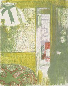 Interieur met hanglamp (Intérieur à la suspension), 1899, Edouard Vuillard, Van Gogh Museum, Amsterdam (Vincent van Gogh Stichting)
