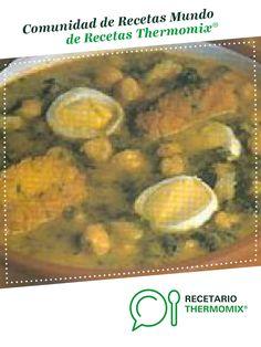 Potaje de vigilia por Thermomix Vorwerk. La receta de Thermomix® se encuentra en la categoría Potajes y platos de cuchara en www.recetario.es, de Thermomix®