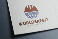 World Safety Logo by eSSeGraphic on Creative Market