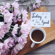 Today is going to be great...with this I wish you a fabulous day . . . . . . . #9Vaga_ShabbySoft9 #breakfast #breaky #click_dynamic #coffee #coffeeandseasons #coffeelover #flatlayforever #flatlay #foreverfaffing #inspiredbypetals #momentsofmine #morningslikethese #mystory_shots #nothingisordinary #onthetable #petalsandprops #snap_ish #still_life_gallery #stilllife #stilllifephotography #stilllifephotos #tv_lifestyle #tv_stilllife #rsa_vsco #transfer_visions #tv_living #flowers #lett...