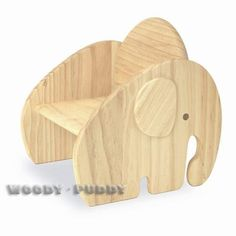 Child Wood Chair Elephant 2