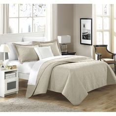 Chic Home Barcelo 3 Piece Quilt Set & Reviews | Wayfair
