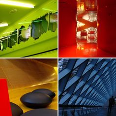 More cool places to explore in Seattle downtown library.
