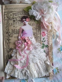 Paper Doll Journal by Heather of Pretty Petals