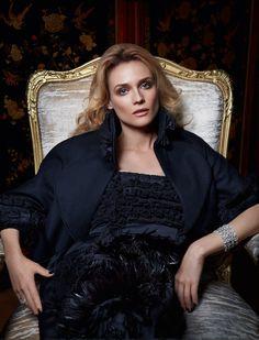 Diane Kruger in CHANEL for Harper's Bazaar Russia June 2015 by Daniele Duella
