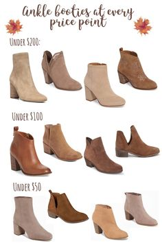 Ankle booties at every price point | MrsCasual