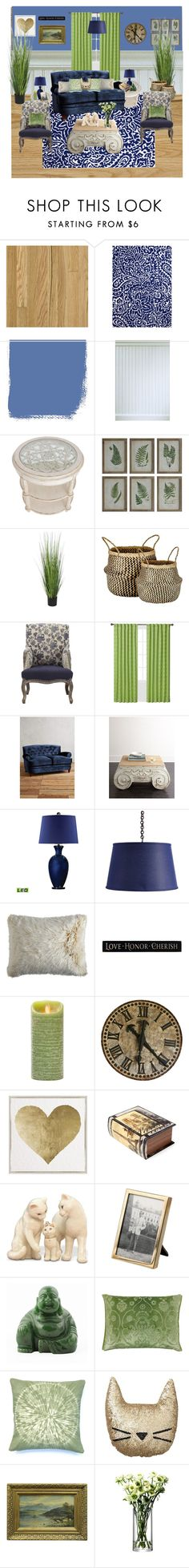 """""""Classic Navy Comfort"""" by wendy-collins-1 on Polyvore featuring interior, interiors, interior design, home, home decor, interior decorating, Jaipur, Neiman Marcus, WALL and Murmur"""