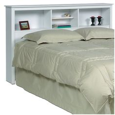 "$220  (5"" too tall)  Monterey  Headboard - White (Full/Queen)"