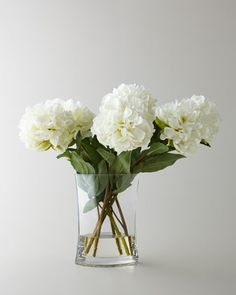"""""""Heavenly Peonies"""" Faux Floral Arrangement by John-Richard Collection at Neiman Marcus."""