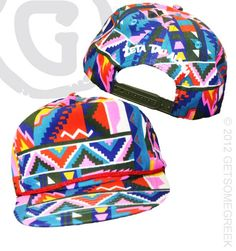 Zeta Tau Alpha Snap Back Hats