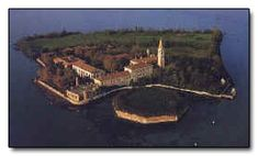 """Poveglia Island, Venice, Italy. From the article """"6 Real Islands Way More Terrifying Than The One On Lost"""" at Cracked.com"""