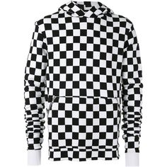 ee6ab5cb8dfc8 Amiri hooded checker-print sweatshirt ( 1