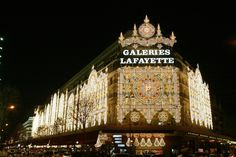 galleries Lafayette. Heaven on earth!  What a fabulous department store in Paris France!