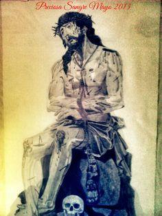 Cristo de la Preciosa Sangre a lápiz, Huelva