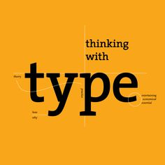 #ThinkingWithType is the definitive guide to using typography in visual communication.