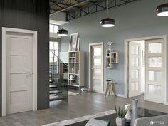Inspiración, interiorismo y decoración: Puerta interior blanca modelo Bosco | Puertas Castalla