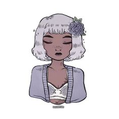 hydrangeas inspired libran ♎️✨ • • • #illustration #horoscope #aesthetic