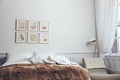 Loft apartment via EST Loft Interior Design, Loft Design, House Design, Cosy Bedroom, Bedroom Decor, Bedroom Interiors, The Line Apartment, Tiny Spaces, Dream Decor