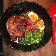 Soyu Ramen at Downtown Ramen 72 Hours, Cape Town, Ramen, Ethnic Recipes, Food, Essen, Meals, Yemek, Eten