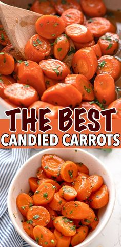 EASY CANDIED CARROTS RECIPE Carrot Recipes, Vegetable Recipes, Whole Food Recipes, Cooking Recipes, Healthy Recipes, Candied Carrots, Cooked Carrots, Candy Carrots Recipe, Side Dish Recipes