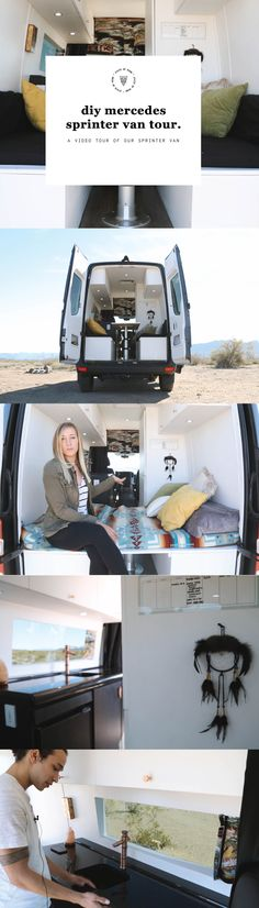 Van Life: Diy Mercedes Sprinter Van Conversion Tour.