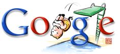 2nd #diving related Google doodle during 2008 #Olympics #Beijing