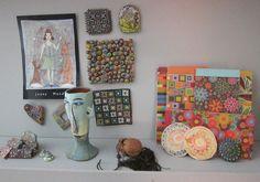 Studio shelf  Cynthia Tinapple