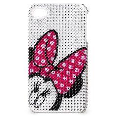 Rhinestone Minnie Mouse iPhone 4 Case