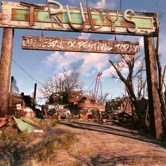 Post with 1775 votes and 132142 views. Tagged with gaming, video games, fallout, fallout Shared by My post apocalyptic Motor Home & Trudys Salvage Yard (AKA Drumlin Diner) Fallout Mods, Fallout 4 Settlement Ideas, Fallout Wallpaper, Gun Turret, Post Apocalyptic, 40k Terrain, Apocalypse, Video Games, Survival