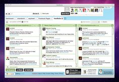 Hootsuite, Social media dashboard