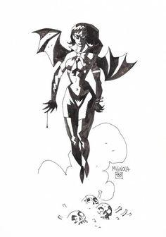 Vampirella by Mike Mignola