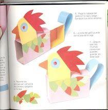 Kippen knutselen met kleuters