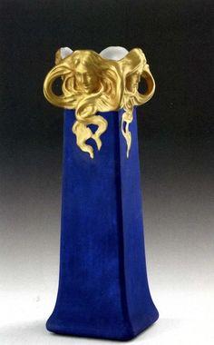 Richard Ginori Ceramic Vase,1900.