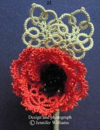 Poppy ... by Jennifer Williams ... free pattern.    patterns.remembrancedaypoppy.pdf