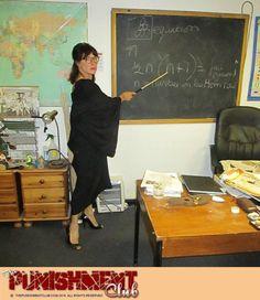 teacher with nice ass
