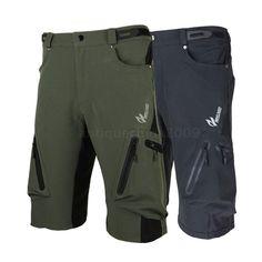 Mens Cycling Mountain MTB Bike Bicycle Cycling Baggy Shorts Pants