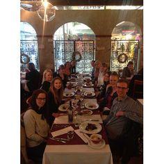 aTalent #alumni dinner ! 😍 #colleagues #goodtimes