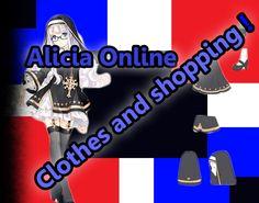 Alicia Online - Shop Update. Clothes !!!