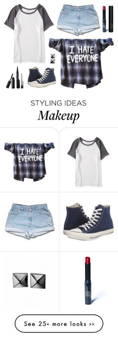 """""""For @fashion-all-around"""" by moscotwin on Polyvore featuring Aéropostale, Converse, Sephora Collection, Gucci and Waterford"""
