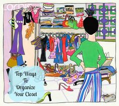 KG Style Designs: Top Ways to Organize Your Closet