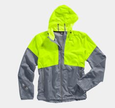 Under Armour's Run Storm hooded jacket for men repels water and wicks sweat away from the body. When it's cloudy or dark out, the bright graphics will keep you visible and safe. $74.99 at Under Armour. Vest Jacket, Hooded Jacket, Rain Jacket, Running Gear, Running Jacket, Ua, Hoods, Under Armour, Windbreaker
