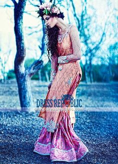 Bridal Lehenga Dresses 2015 by Tena Durrani
