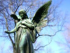 Angel Statue Alter Nordicher Friedhof